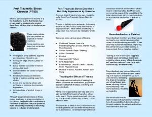 PTSD Brochure Page 2